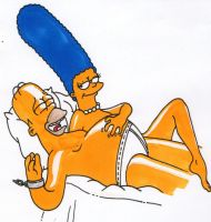 The Simpsons tickle by solletickle
