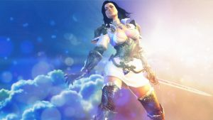Miranda Lawson: Joining Forces Wallpaper by TruePrince
