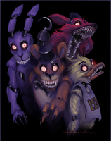 Five Nights at Freddy's by cyborgraptor