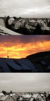 Today snow and sunrise by little-one-girl