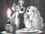 Lady and the Tramp 3-D by MVRamsey