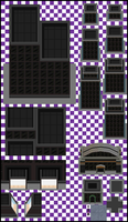 Black City Tiles by UltimoSpriter