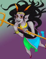 Homestuck - Fef by Kireikage
