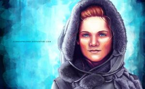 Kissed by Fire by AlessiaPelonzi