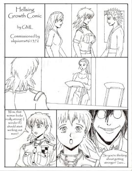Hellsing Growth Comic Pg 1 by GrandMasterLucilious