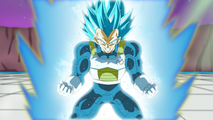 Super Saiyan Blue Second Grade by EverlastingDarkness5