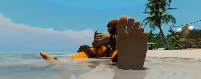 [SL] At The Sea by junglefooter
