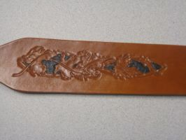 Commisioned Rifle Sling by FattDaddyLeather