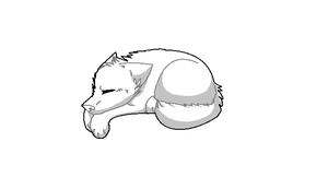 Sleeping Canine BASE by Vii-Snare