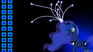 new custom luna wallpaper by SPltFYre