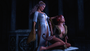 The Priestess and the Acolyte by SkyDaddyD
