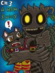 Rocket and Groot Fan Comic character 3 by MagicArt1