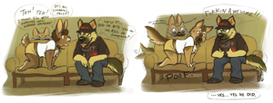 INFECTED WITH GSHEP by Katmomma