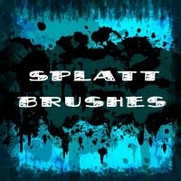 Splatt Brushes by MegaLancer by MegaLancer