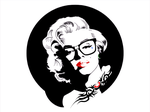 Hipster Marilyn Monroe by Bugboy524