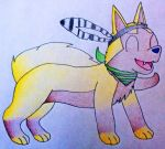 AT: Shiny Poochyena Pokesona by MysteryBeliever-KJB