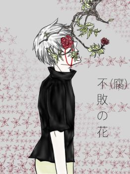 Kaneki Ken (Fuhai no Hana) by Darkness637