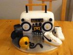 Boombox Cake by Charley-Blue