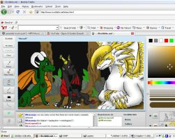 iScribble with Friends by NewLegend1