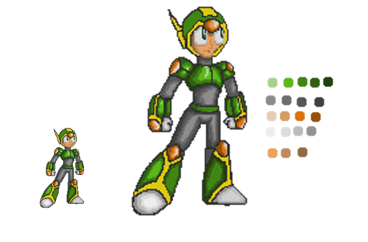 Sprite character WIP by Ashura01