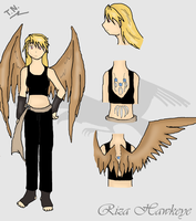 Riza Hawkeye the Chimera by DriftingVeedragon
