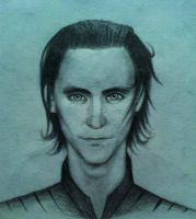 Loki Sketch by Scribblerb