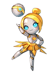 Orianna Chibi(Render) by MayaGenetic