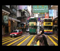 Hong Kong Transport by twodogs239