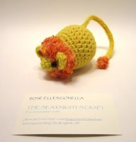 Amigurumi Big Cat Mouse: Lion by Dragonrose36