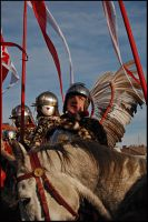 Winged hussars by Sarmacki
