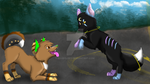Orbit and Xena *RQ* by pspsp13