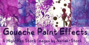 Gouache Paint Effects by Neriah-stock