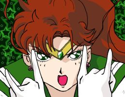 cuz sailor jupiter is awesome by pinknailpolish89