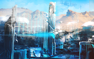 Forerunner City by TDSpiral