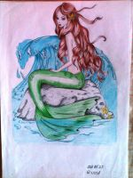 mermaid by nightorchide