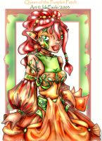 Queen of the Pumpkin Patch by jala