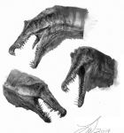 Spinosaurus Sketches by TwoDD