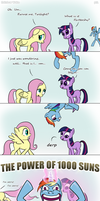 Rainbow Wake pt1 by thestoicmachine