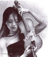The Violist by shiharai