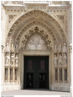 Zagreb cathedral gates by danielnikolic