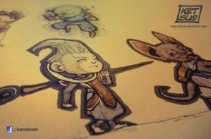 Tiny Whis and Bills by KetsuoTategami