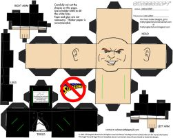 Villains 1: Lex Luthor Cubee by TheFlyingDachshund