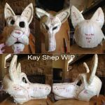 Kay Shep WIP (Tape Pattern Finished) by KRSSRK