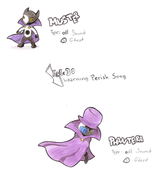 Muster and Phantera (Request) by WesleyFKMN