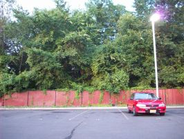 Car in lot by Mirag3-Photography