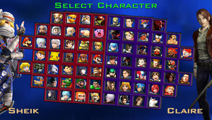 Nintendo vs Capcom - My Roster by DENDEROTTO