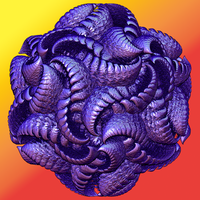 Purple Wyrm Ball by CopaseticDesign