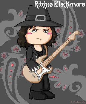 Tinies - Ritchie Blackmore by purple-telvanni