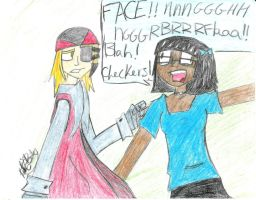 Jackle and Shanell by thatoneginger