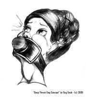 Deep Throat Gag Concept by GagSnob
